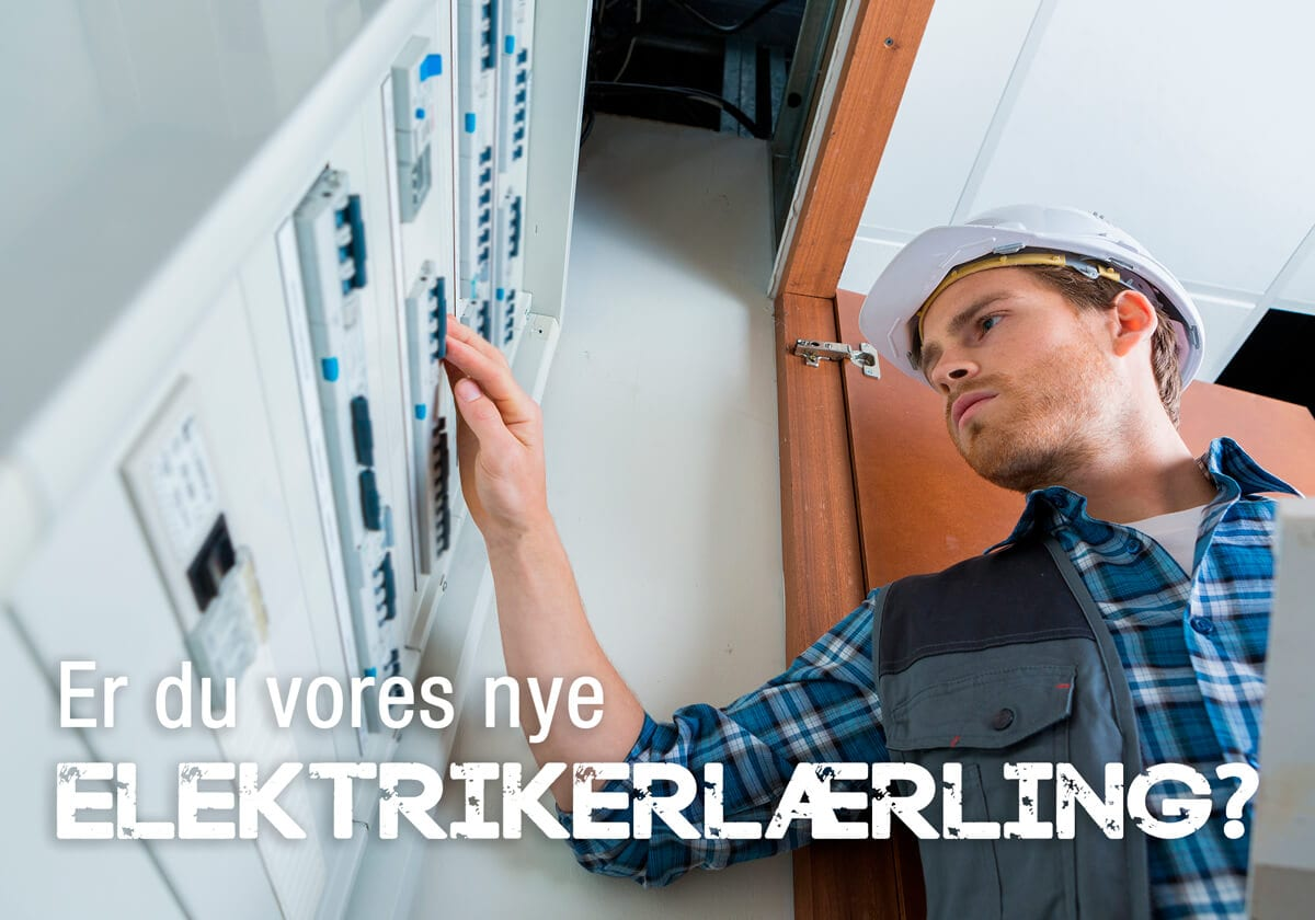 elektrikerlærling til Lindved EL